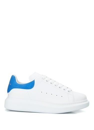 Alexander McQueen Alexander McQueen Oversize   Kadın Deri Sneaker 101611825 Mavi